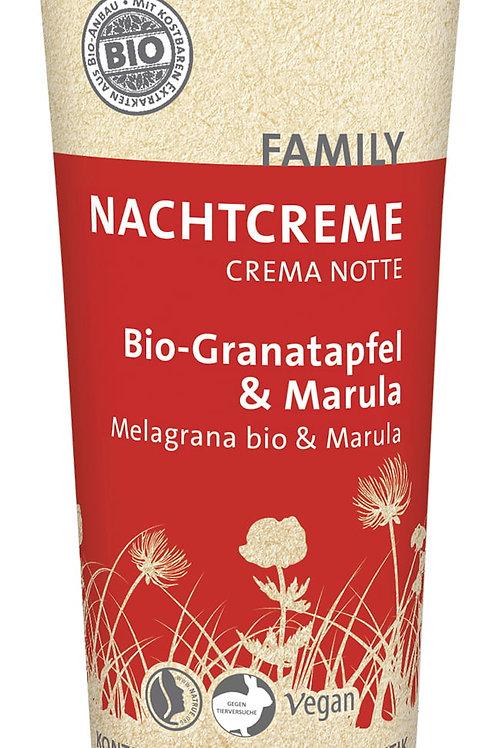 Crema de Noche Granada Bio & Marula Bio - SANTE- 75ml