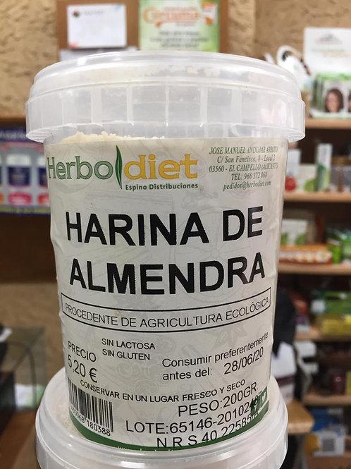 Harina de Almendra ecológica 200g Herbodiet