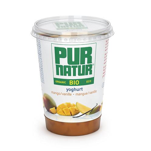 Yogur de Mango y Vainilla 500g Pur Natur