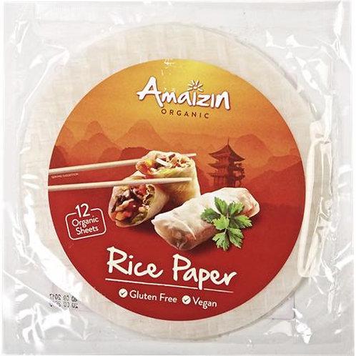 Papel de arroz para rollitos 110g