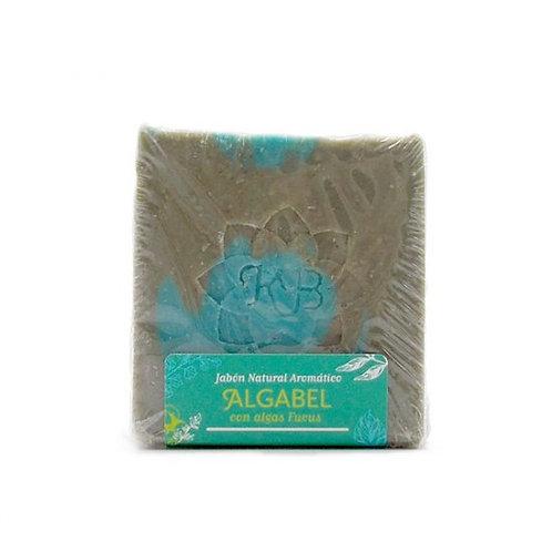 Pastilla jabón Algabel con algas Fucus 100g Madreselva