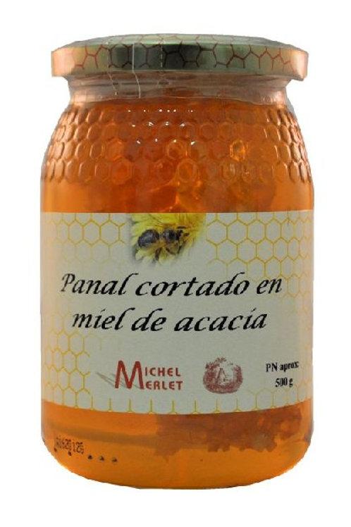 Miel panal de acacia - Michel Merlet - 500 gr