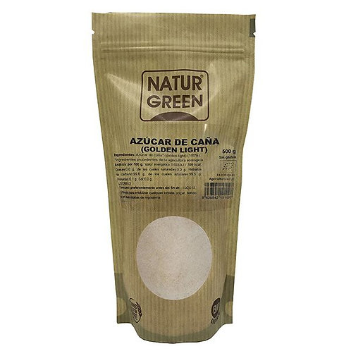 Azúcar de Caña (Golden Light) 500g Naturgreen
