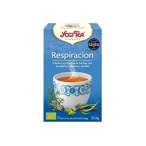 Yogi Tea BIO Respiración profunda - 17 bolsitas