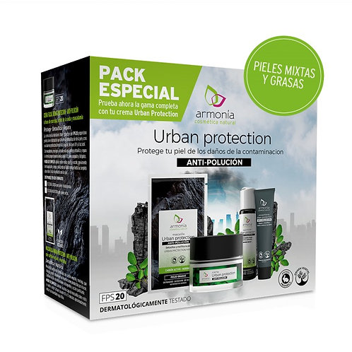 Pack crema ligera urban protection Armonía