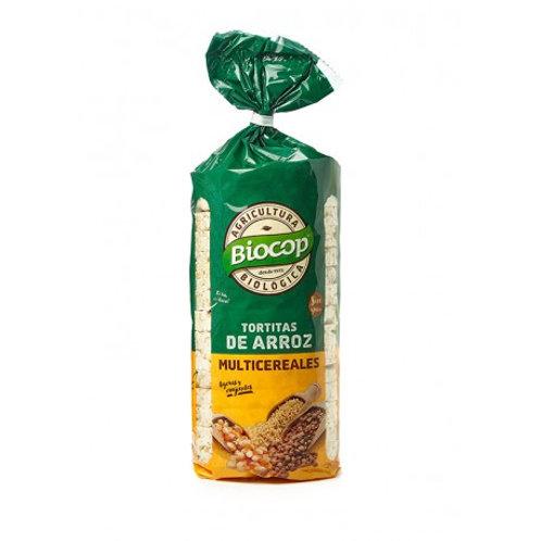 Tortitas de arroz con multicereal Biocop 200 g