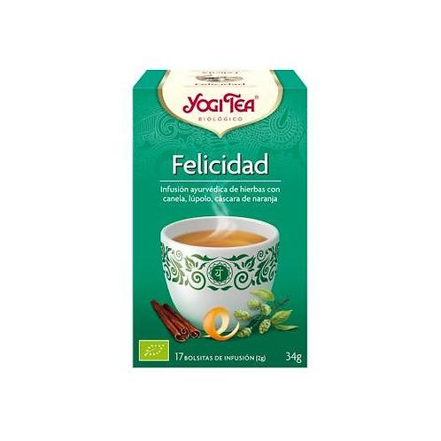 Yogi Tea BIO Felicidad - 17 bolsitas