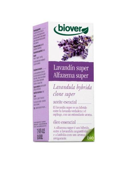 Aceite esencial Lavandín super - Biover - 10ml