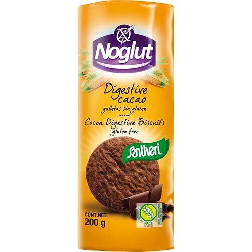 Galletas digestive cacao 200g Noglut Santiveri