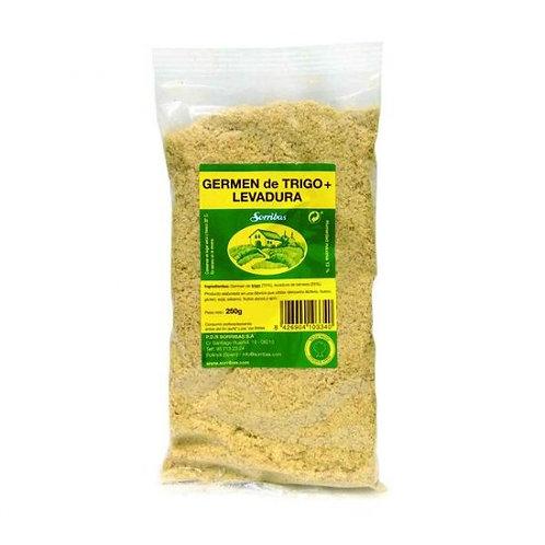 Germen de trigo + Levadura 250g Sello Verde