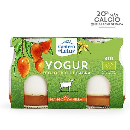 Yogur Cabra con Vainilla y Mango 2x125g Cantero de Letur