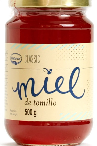 Miel de Tomillo 500g Naturval