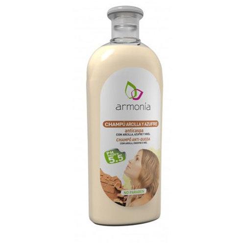 Champú Arcilla y Azufre Anticaspa - Armonía - 400 ml