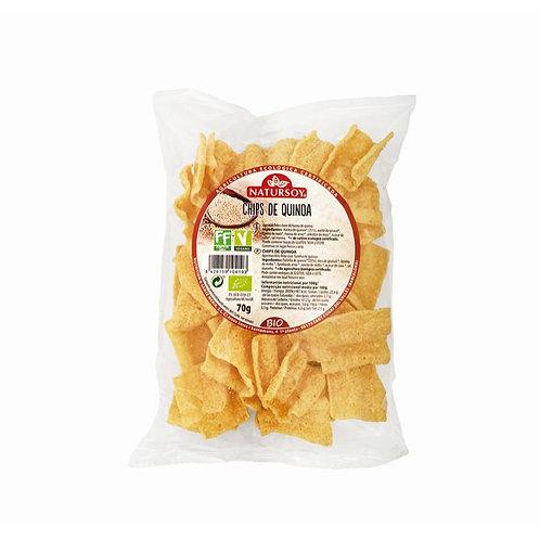 Chips de quinoa 70g Natursoy