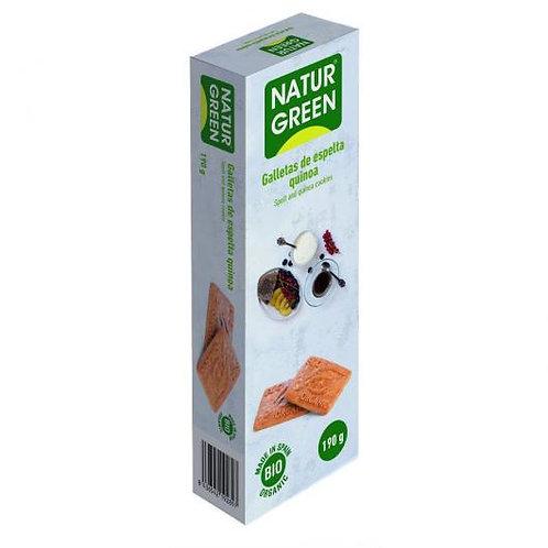 Ecogalleta espelta quinoa naturgreen