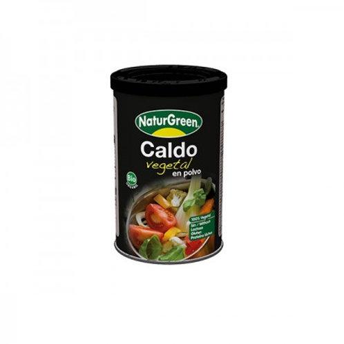 Caldo vegetal de verduras bio - Naturgreen - 200g