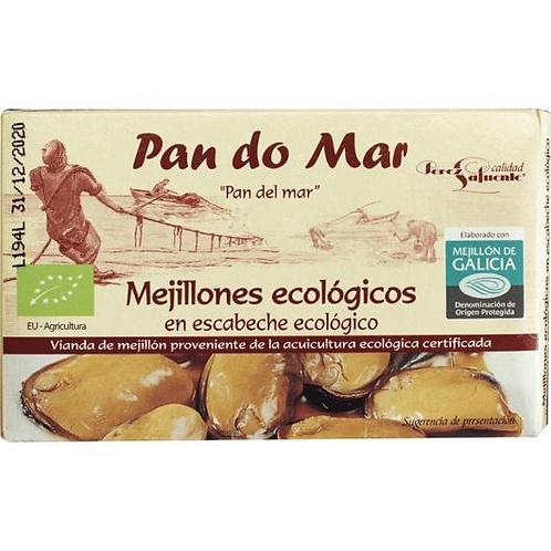 Mejillones en escabeche - Pan do mar - 120 g