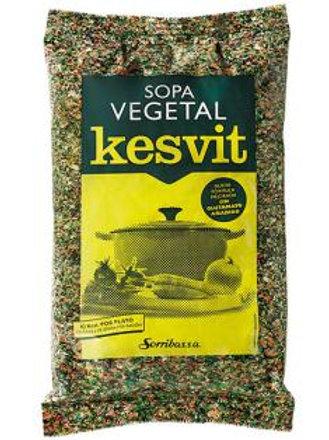 Kesvit Sopa de sémola Verduras 500g Sorribas