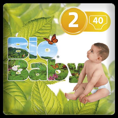 Pañales T2 (5-8kg) - BIO BABY - 40 unidades