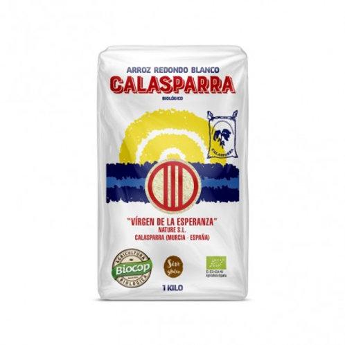 Arroz Redondo Blanco 1kg Calasparra