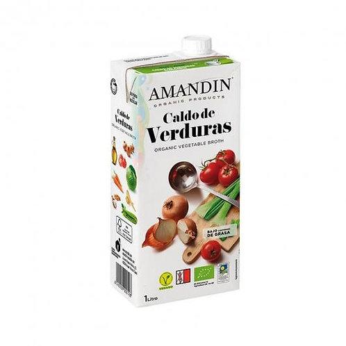Caldo de Verduras 1l Amandin