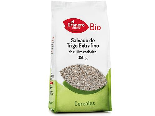 Salvado de Trigo Extrafino Bio - El granero - 350 g