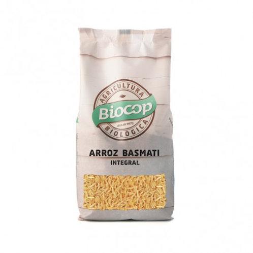 Arroz Basmati integral 500g Biocop