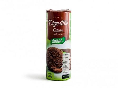 Galleta Digestive Cacao 190gr SANTIVERI