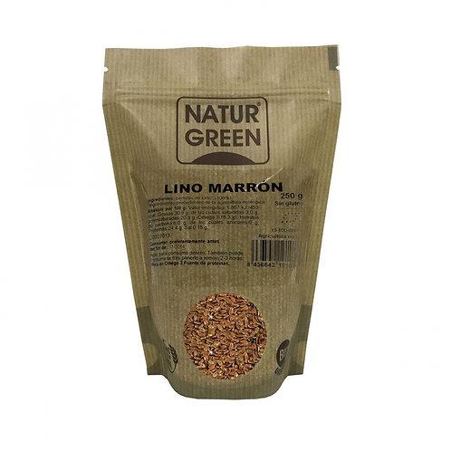 Lino marrón 250g naturgreen