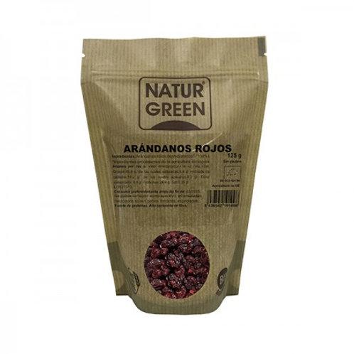 Arándanos rojos Deshidratados - Naturgreen - 125g