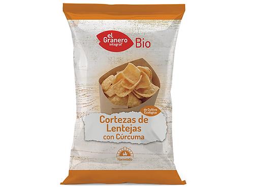 Chips de Lentejas con Cúrcuma 80g