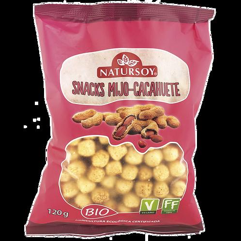 Snacks Mijo Cacahuete 120g Natursoy