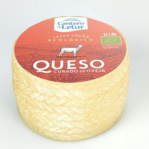 Queso Oveja leche cruda 850 g aprox. Cantero de Letur