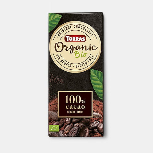 Tableta Cacao 100% 100gTorras