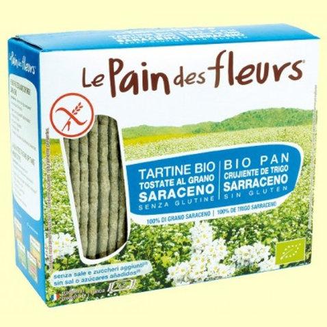 Pan de Flores crujiente sin Sal 150g Le Pain des fleurs