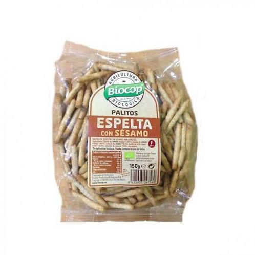 Palitos de Espelta y Sésamo - Biocop - 150 g