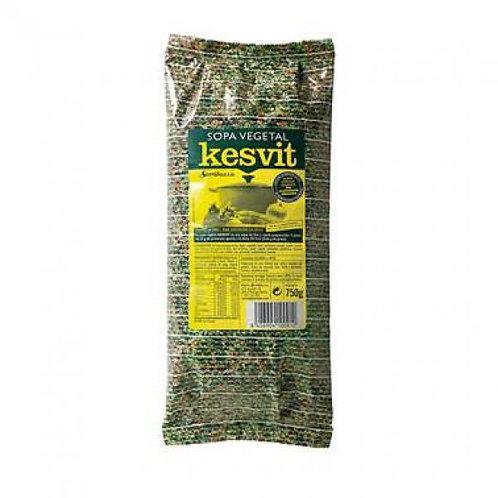 Kesvit Sopa de sémola verduras 750g Sorribas