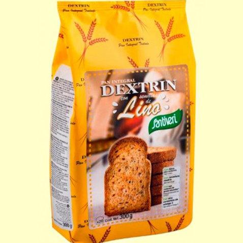 Pan Dextrin con Semillas de Lino - Santiveri - 300 gramos