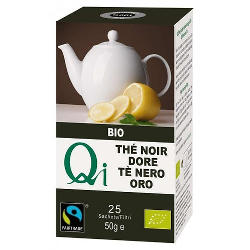 Té Oro Negro 25 Filtros Qi Herbal Health