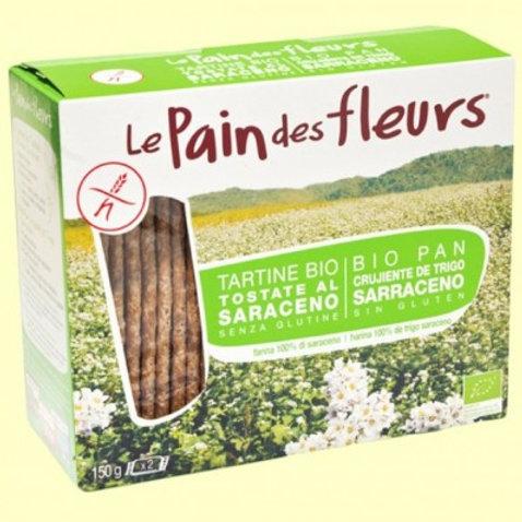 Pan de flores crujiente Bio 300g Le Pain des Fleurs