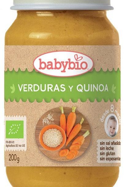 Tarrito verduras y quinoa - Babybio - 200g