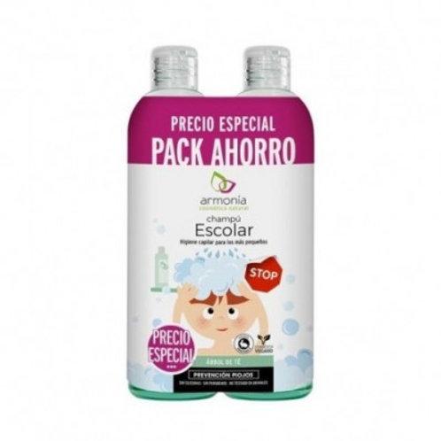 Champú Escolar Pack Ahorro - Armonia - 2x300ml