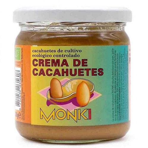 Crema de Cacahuete 330g Monki