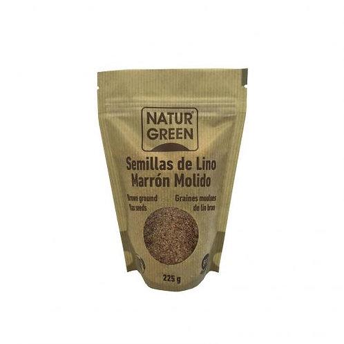 Lino Marrón molido 225g Naturgreen