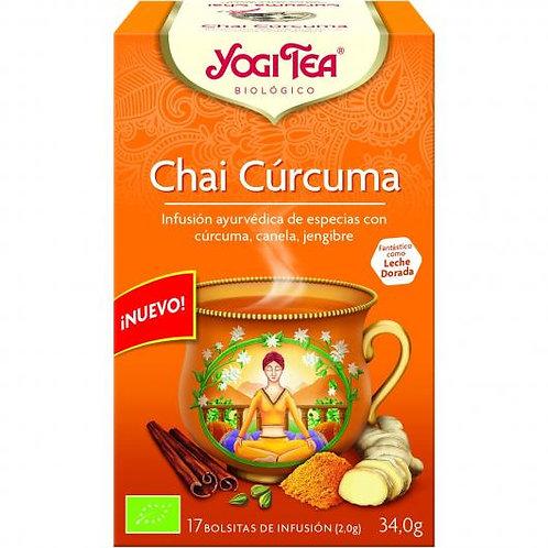 YogiTea Chai Cúrcuma 17 bolsitas