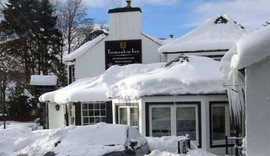 Snow at the inn