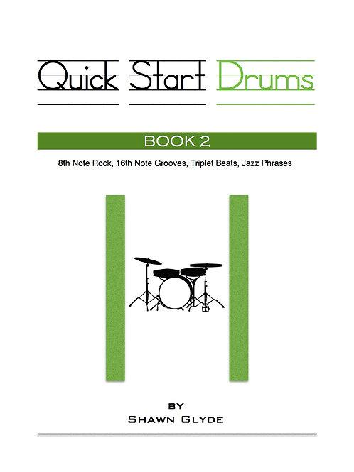 QUICK START DRUMS - Book 2