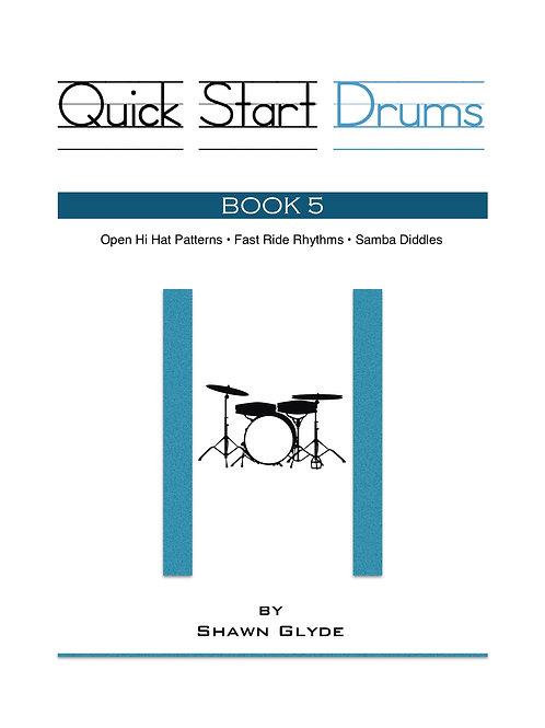 QUICK START DRUMS - Book 5