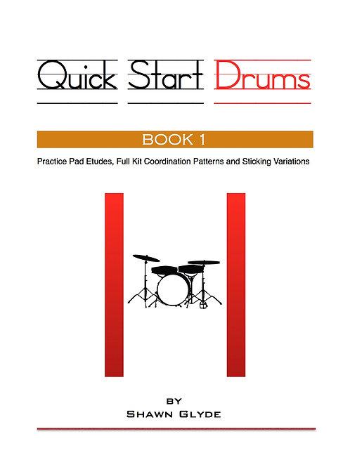 QUICK START DRUMS - Book 1