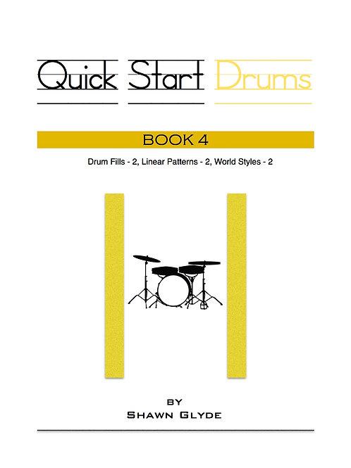QUICK START DRUMS - Book 4